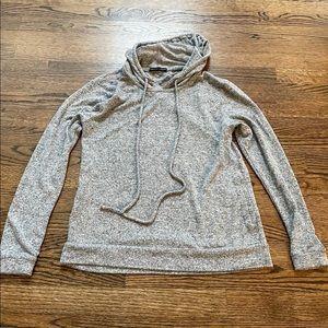 Harlowe and Graham Small Gray Hooded Sweatshirt